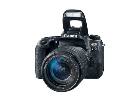 Canon Camera  EOS 77D + 18-135mm