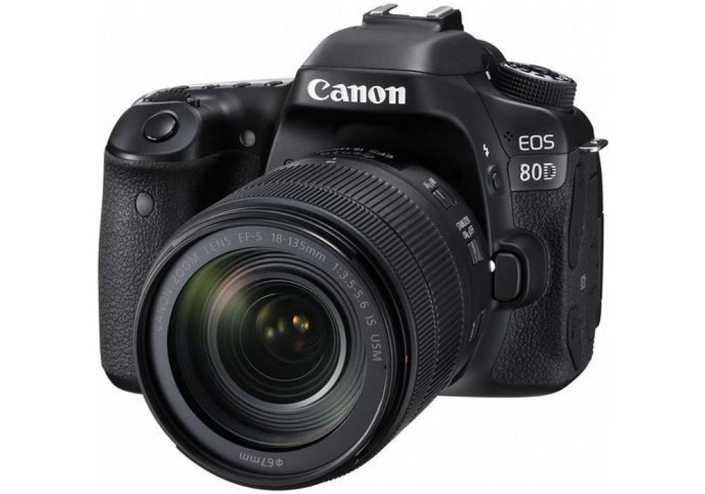 Canon Camera EOS 80D + 18-135mm