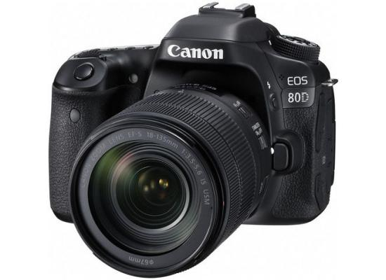 Canon Camera EOS 80D + 18-135mm