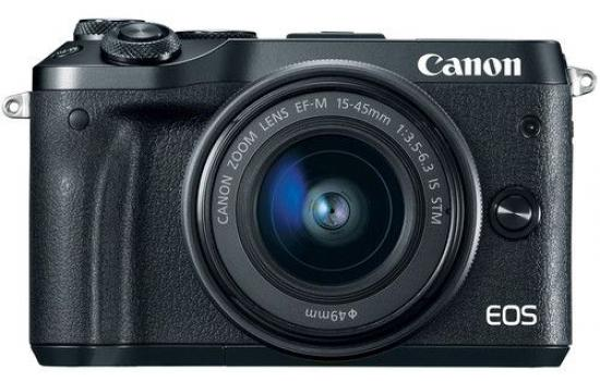 Canon Camera EOS M50 Blk EF-M 15-45S