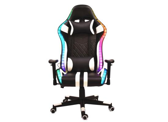 Gaming chair D01 RGB white