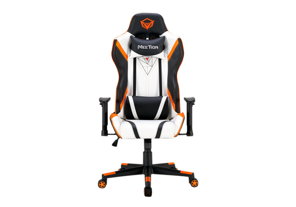 Meetion 180 ° Adjustable Backrest E-Sport Gaming Chair CHR15 White