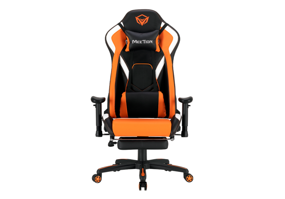 Meetion Leather Reclining Gaming E-Sport Chair with Footrest CHR22