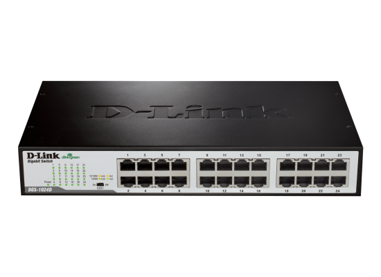 D-Link 24-Port Gigabit Unmanaged Desktop/Rackmount Switch