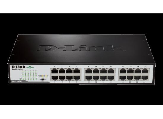 D-Link 24-Port Gigabit Unmanaged Desktop/Rackmount Switch