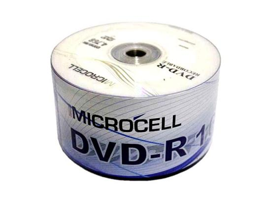 DVD-R Microcell 50 PACK 4.7GB