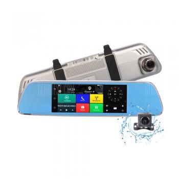 V200 DVR 3G Android GPS Rear View Mirror Camera 7 Inch ROM 32GB Night Vision