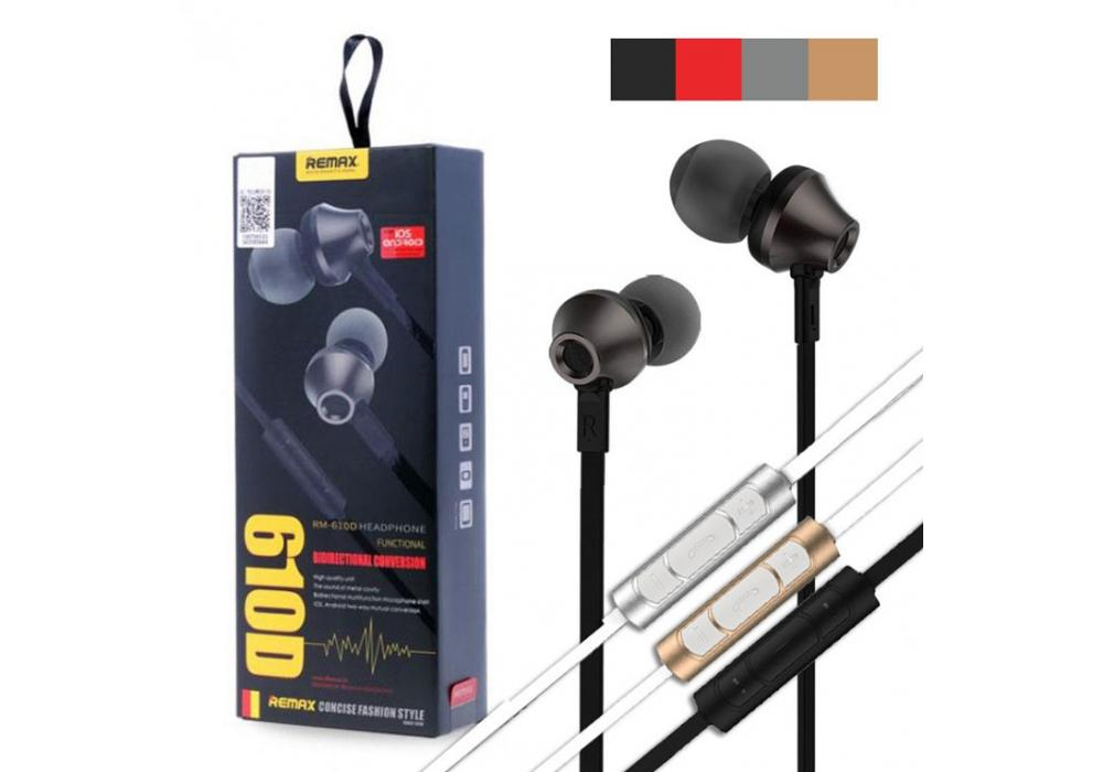 Earphone REMAX  610D