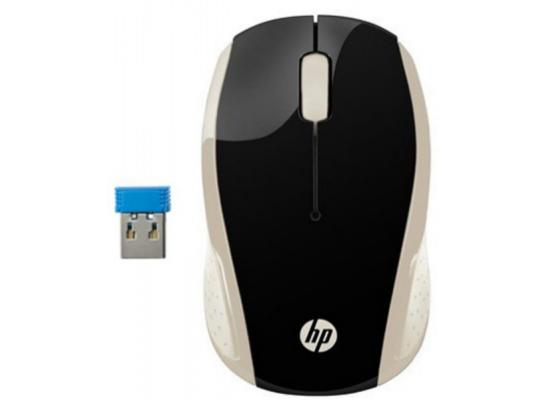 HP Wireless Mouse 200 Gold