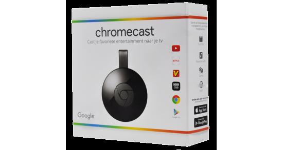 Google - Chromecast - Black