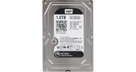 WD Black 1TB Hard Drive