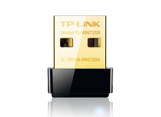 TP-Link N150 Wireless WiFi USB Adapter (TL-WN725N)