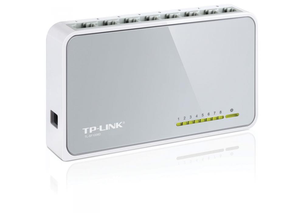 TP-LINK Desktop Switch 8-Port 10/100Mbps TL-SF1008D