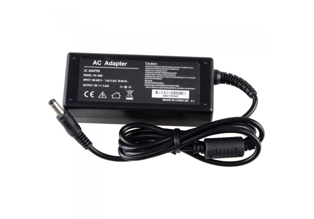 Charger For Laptop Toshiba 19V - 3.42A Compatible