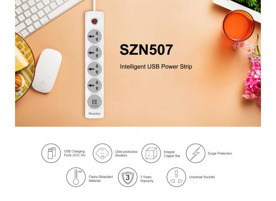 Huntkey Power Strip  SZN507