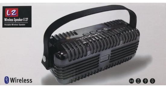 L2  Bluetooth Speaker E27