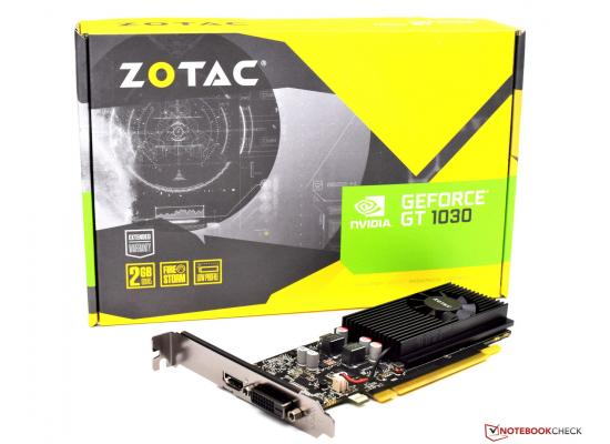 ZOTAC GeForce GT1030 DDR5 Zone Edition