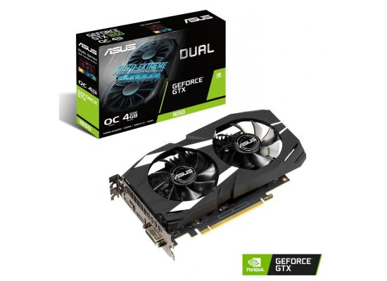 Graphic Card Asus Dual  NVIDIA GeForce  GTX 1650 OC Edition 4GB GDDR5