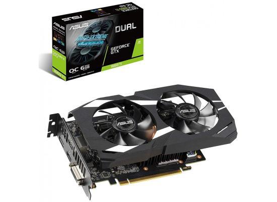 Graphic Card Asus NVIDIA GeForce Dual GTX 1660TI OC Edition 6GB GDDR6