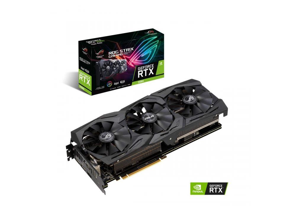 Graphic Card Asus ROG Strix NVIDIA GeForce  RTX 2060 Advanced edition 6GB GDDR6