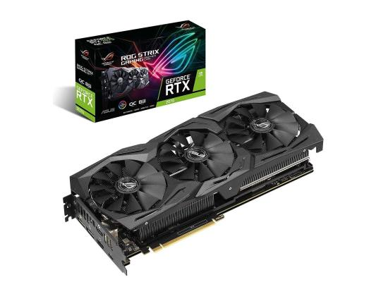 Graphic Card Asus ROG Strix NVIDIA GeForce  RTX 2070  advanced edition 8GB GDDR6
