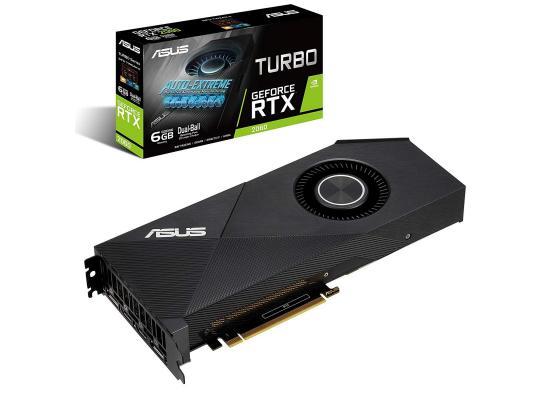 Graphic Card Asus Turbo NVIDIA GeForce  RTX 2060 6GB GDDR6