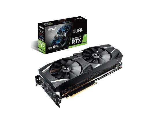 Graphic Card Asus Dual NVIDIA GeForce  RTX 2080  advanced edition 8GB GDDR6