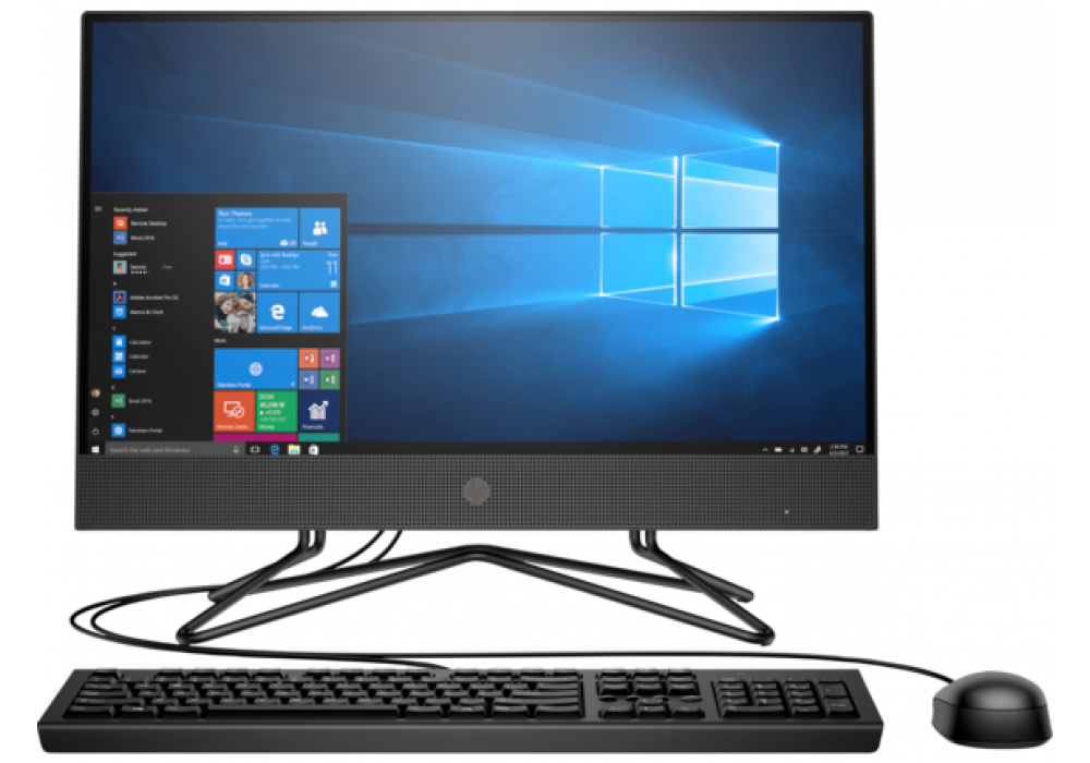 HP 200 G4 22 All-in-One PC Core I3 10th Generation Non Touch