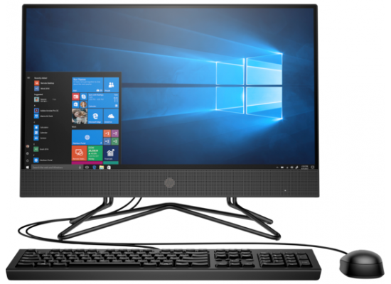 HP 200 G4 22 All-in-One PC Core I5 10th Generation Non Touch