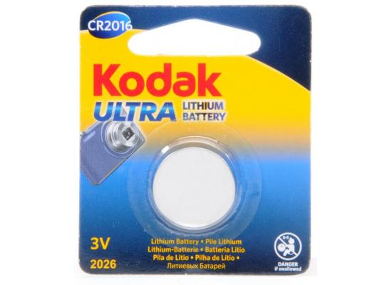 Kodak Lithium  Battery CR2016