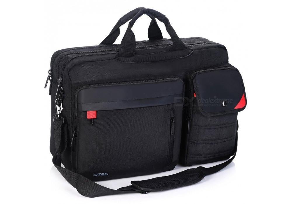 "DTBG Laptop Backpack + Messenger Bag  17.3""-K9016W"