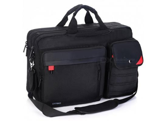 "DTBG Laptop Backpack + Messenger Bag  17.3""-K9016W"