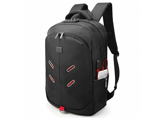 "DTBG Laptop Backpack 17.3""-D8228W + TSA LOCK"