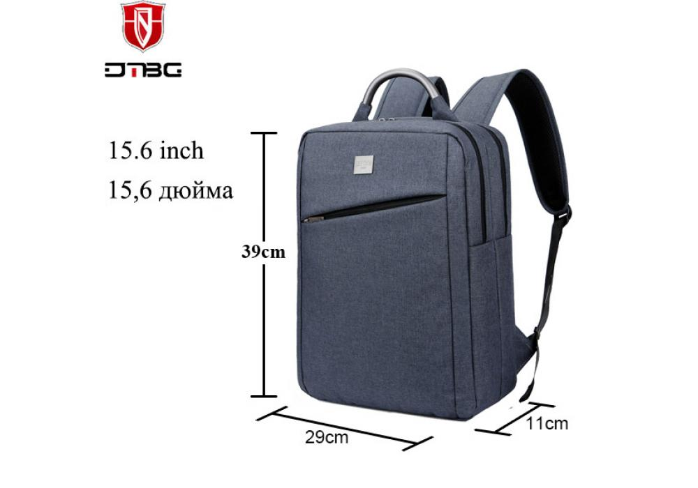 DTBG Laptop Backpack Notebook Gray