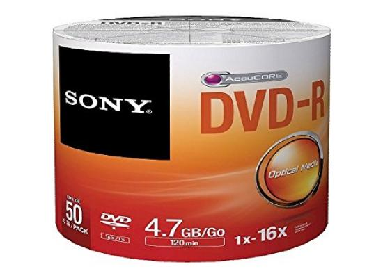 DVD-R SONY 50 PACK 4.7GB