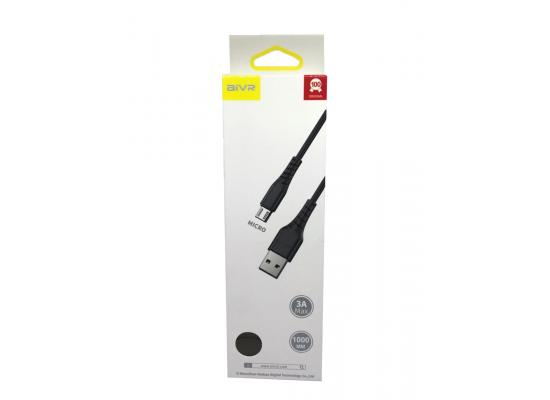 Mobile cable AIVR K331-M Micro USB 1M FAST 3A MAX
