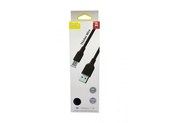 Mobile cable AIVR  K332-M Micro USB 1M FAST 4A MAX