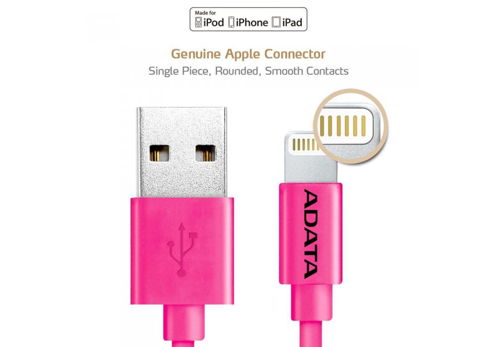 Cable Adata Usb, Charger 2.4A 1M IPHONE