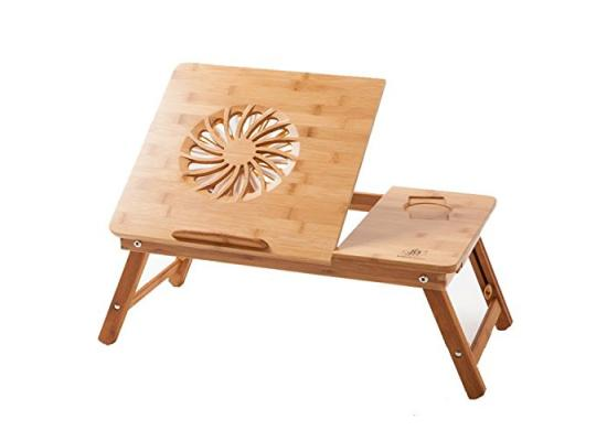Laptop Cooling Stand Bamboo 1XFan