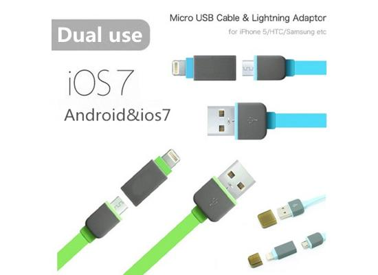Cable Usb, Multi Charger 2.1A 1M