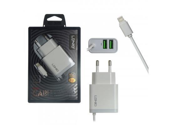 LDNIO Smart Fast Charger with cable auto-ID A321