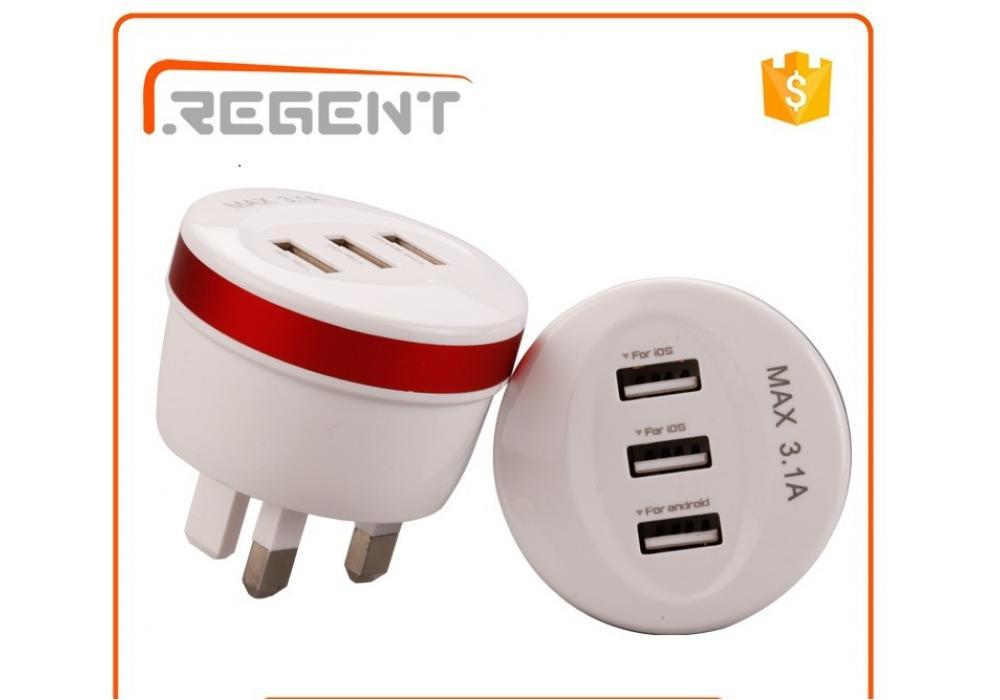 Plug Usb Home Wall Charger Power 3.1A
