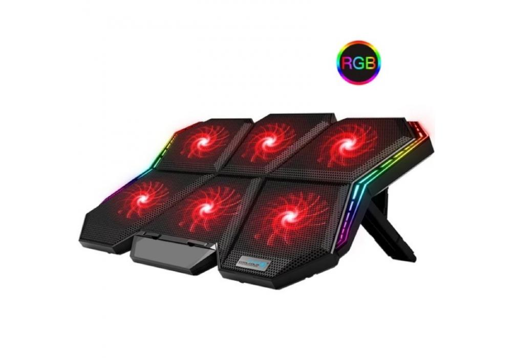 Laptop Cooling Stand K40 6 Fans RGB