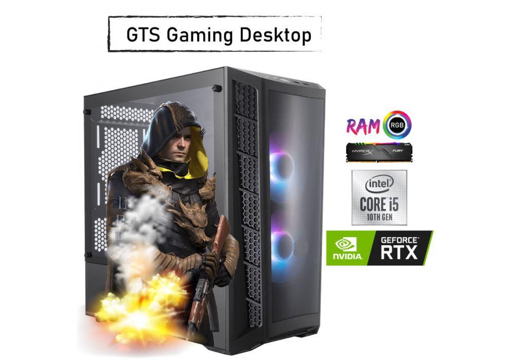 GTS 25  GAMING  Desktop -Core i5 - NVIDIA GeForce RTX 2060 SUPER 8GB DDR6  WINDFORCE OC  10th Generation