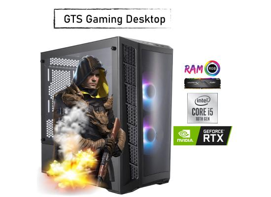 GTS 25  GAMING  Desktop -Core i5 - NVIDIA GeForce RTX 2060 SUPER 8GB DDR6  WINDFORCE OC  10th Generation