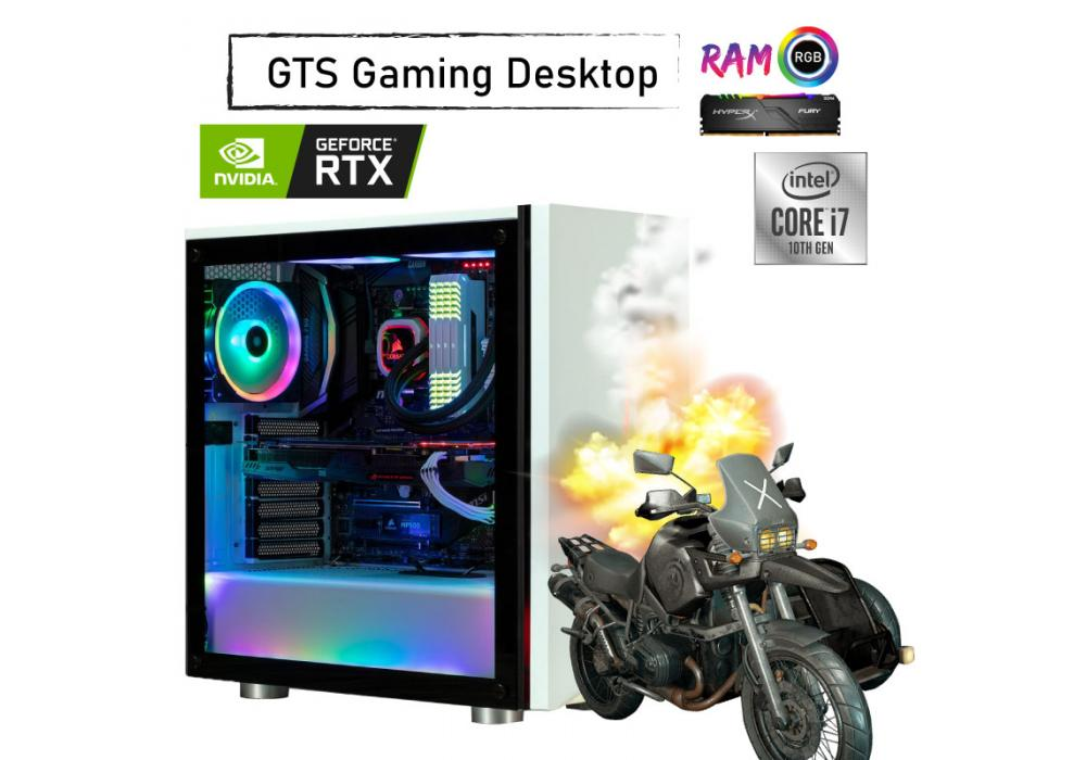 GTS 29 RGB GAMING  Desktop -Core i7 -GeForce  RTX 2070 SUPER 8GB WINDFORCE OC 3x fans 10th Generation