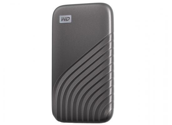 WD 2TB My Passport External  SSD gray