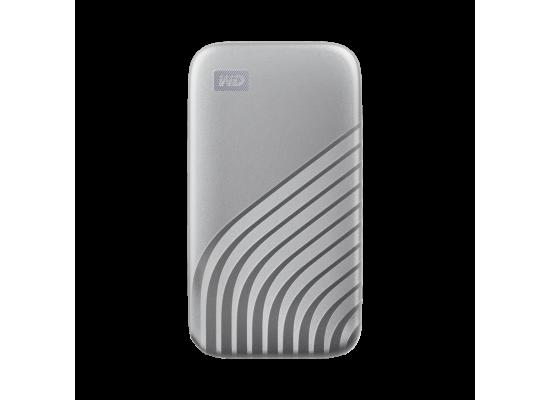 WD 500GB My Passport External SSD Silver