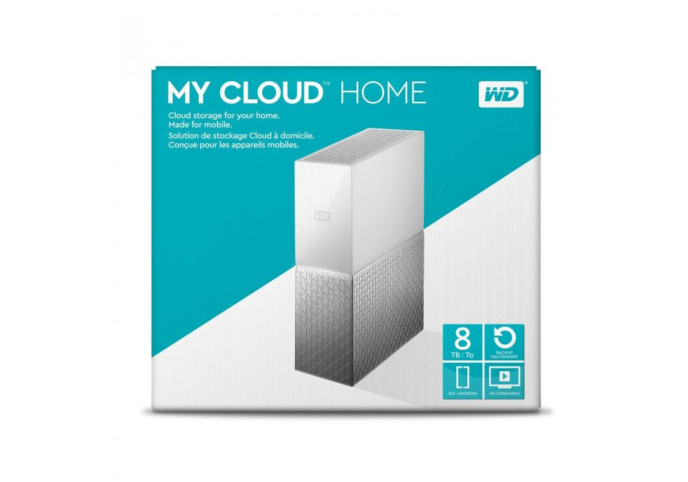 External WD My Cloud Home 8TB Multi