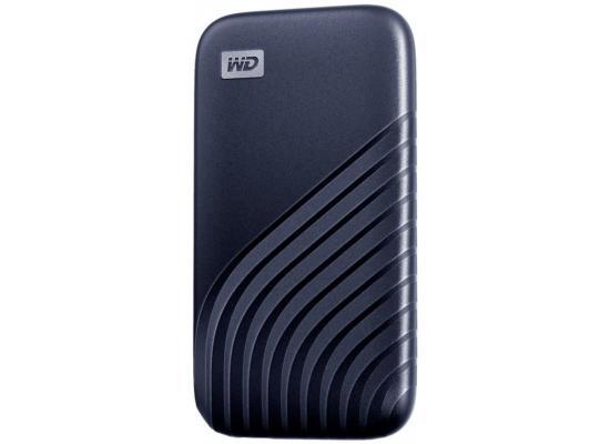WD 500GB My Passport External SSD Blue